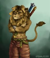 Lion Warrior by snoot