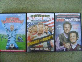 My Will Ferrell Collection by RarityLuver214