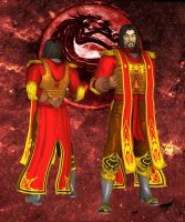 MKDA Shang Tsung Primary by UndeadMentor