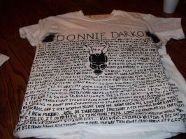 Donnie Darko Shirt by anime-diva101