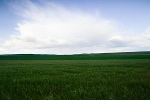Campo y Nubes by SuperStar-Stock