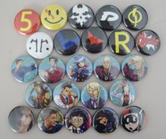Awsome Shiny buttons by galaxyofgover