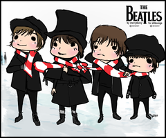 The Beatles for Aliboonga by starryducky