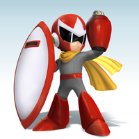 Smash4 Mod: Protoman by Nibroc-Rock