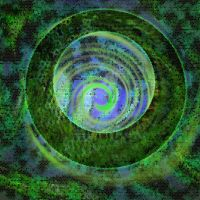 3d abstract circle by CristianStanica89
