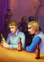 Sadness of Ages - Howard + Tom by bonezie
