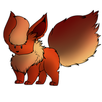 Flareon butt by Ms-Dawn