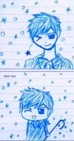 Jack Frost sketches by AmityChan