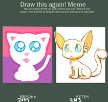 Draw this again meme by FlareMor
