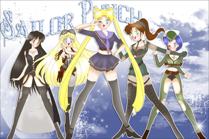 Sailor Punch - the Group by Rioka-la-Revolution