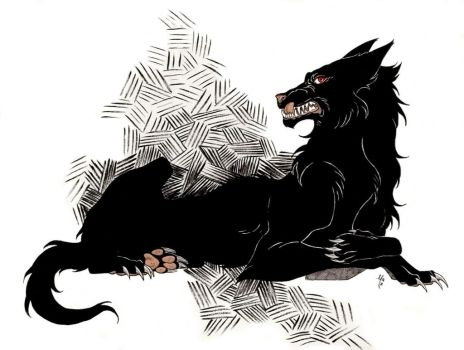 Hellhound by MaxCAMPBELL