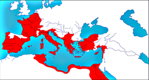 Roman Empire in 25 BC by woodsman2b