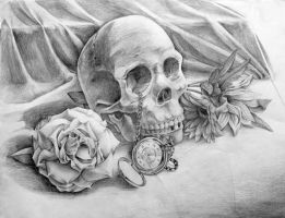 Portfolio: Vanitas in Pencil by Lo-wah