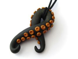 Tentacle Necklace by PumpkinDream