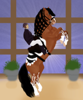 Minthral Levade Asgardian Sky Competition Dressage by Skypeoplephoenix732