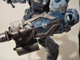 Weathered Gouf custom: 3 by clicker-3000