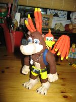 Banjo and Kazooie by Awasai