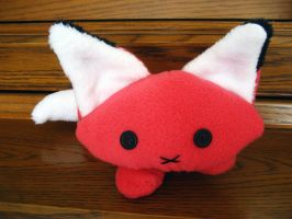 Red Fox Plushie by mAd-ArIsToCrAt