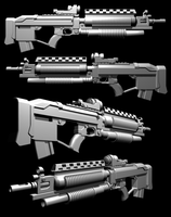 M-82G ISA Rifle V2 by thefirewarriors