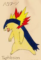 Typhlosion by Up-Your-Arsenal-N90