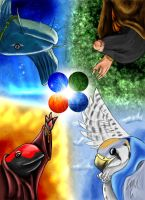 The Four Elements by jet3270