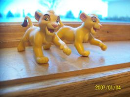 What Should I turn these Two Simba figures Into? by coolwolfbro