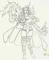 Pheonix Five: Emma Frost by Num1XMN