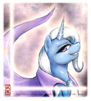 Trixie -The Great and Powerful by Slightly-Stratus