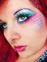 mermaid net by itashleys-makeup
