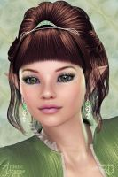 The Sweet Elven Princess by RavenMoonDesigns