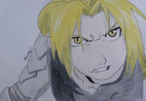 edward elric by jackom31