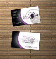 BlackOut business card by mprox