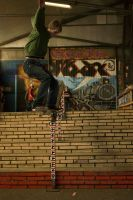Danny, Frontside 5-0 by Obscurity-Doll
