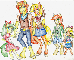 Request: The Apple Family by Coraline-176