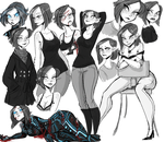 character sketching by suzzannnn