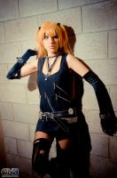 Unfinished cosplay  Misa Amane Artbook version by D4sM0nster