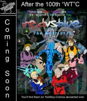 RvB Fan Comic Cover .:finish:. by MidNight-Vixen