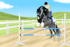 SAS Walking Tall - Jumping Training - Tempest by 11IceDragon11