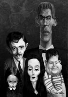 Addams Family by creaturedesign
