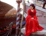 Lady in red - 05 by pallottili