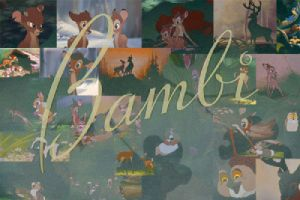 bambi character desktop background by Liviy22