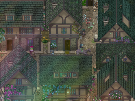 RPG Maker - Medieval town by AlJeit
