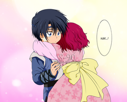 Akatsuki No Yona - Young Hak and Yona [COLORING] by Sunney90