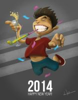 HAPPY NEW YEAR 2014! by jericilag