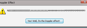 Error Message: Doppler Effect by Addicted-Squared