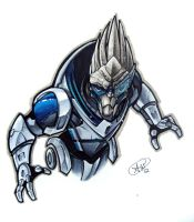 Garrus by AdamWithers