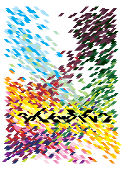 Clash of Color poster by howling