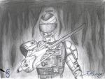 Fire Tector Drawing by Starcat666
