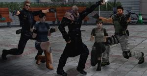 Resident Evil : Group Dance by Captain-AlbertWesker