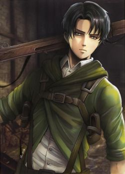 Levi cover 13 by Redwarrior3